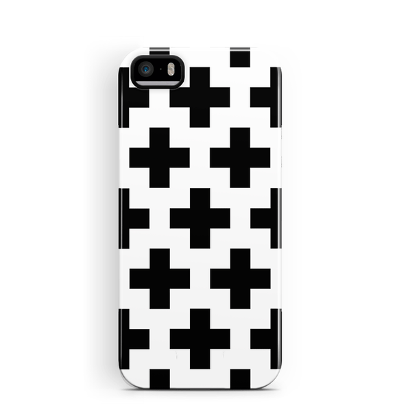 Crosses iPhone SE 5/5S Case Tough Protective