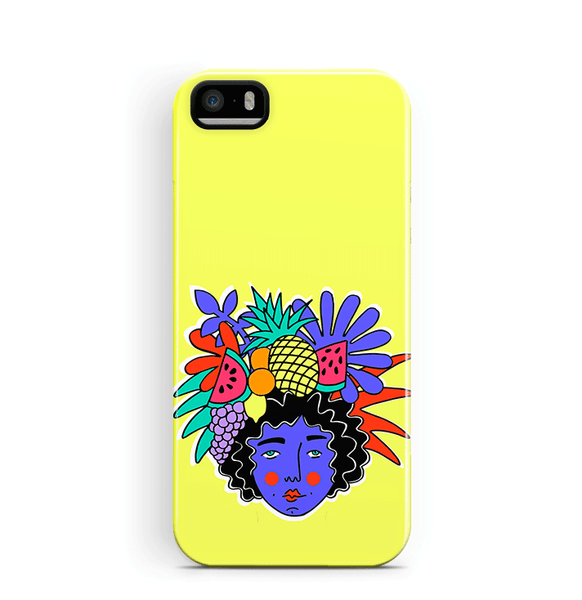 Fruity iPhone 5 5S SE Cover Summer and Tropical