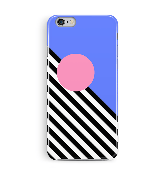 Blue 80s iPhone 8 and 8 Plus Case