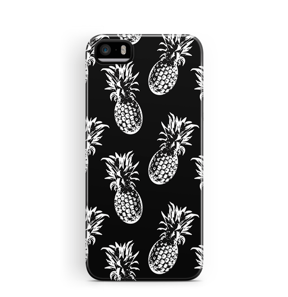 Black Pineapple iPhone 5 5S SE Cover
