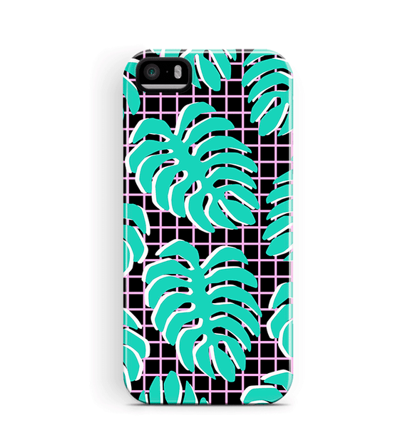 Palm Leaf iPhone 5 5S SE Case Plants Leaves