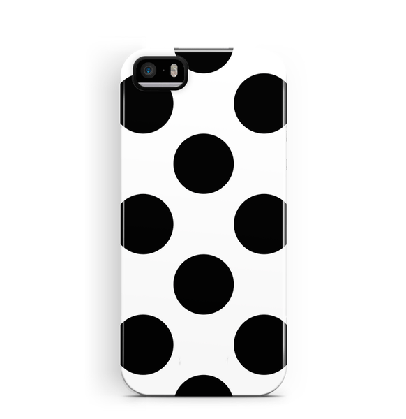 Polka Dots iPhone 5 5S SE Case Tough