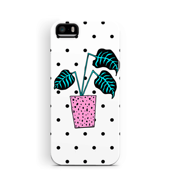 Plant Pot iPhone 5S 5 SE Case Tough Protective