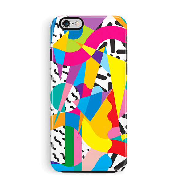90s Wacky Shirt iPhone 8 and iPhone 8 Plus Case