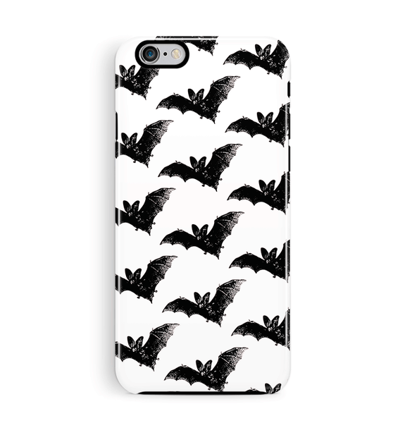 Bat iPhone 6/6S Case Tough in Black & white