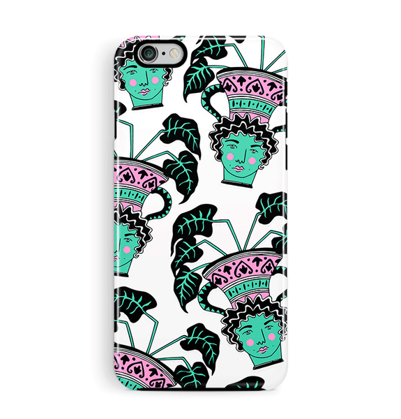 Faces iPhone 6 6S Case Plants Tough