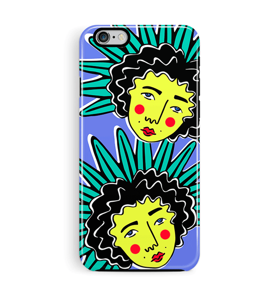 Faces iPhone 6 6S Cover Tough