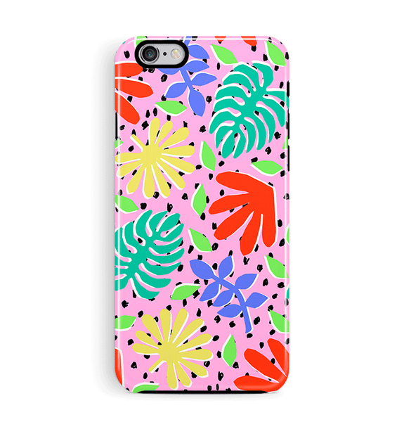 Colourful Leaves iPhone 6 6S Case Tough