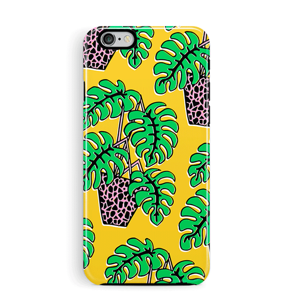 Cheese Plant iPhone 6 6S Case Tough