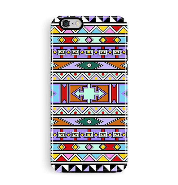 South African iPhone 6 6S Case Aztec Tough