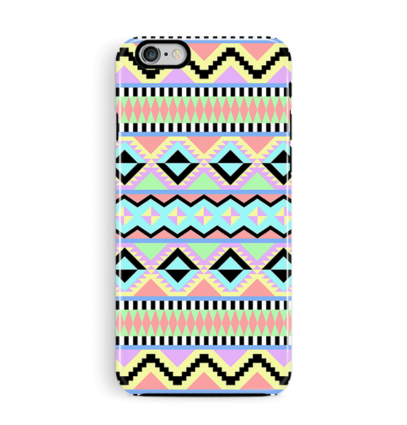 Pastel Aztec iPhone 6 6S Case Tough