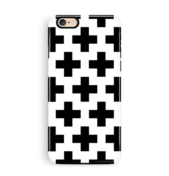 Crosses iPhone 6 6S Case Tough Pattern