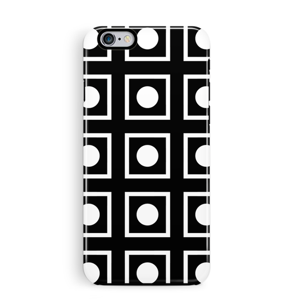 Black Domino iPhone 6 6S Case Tough