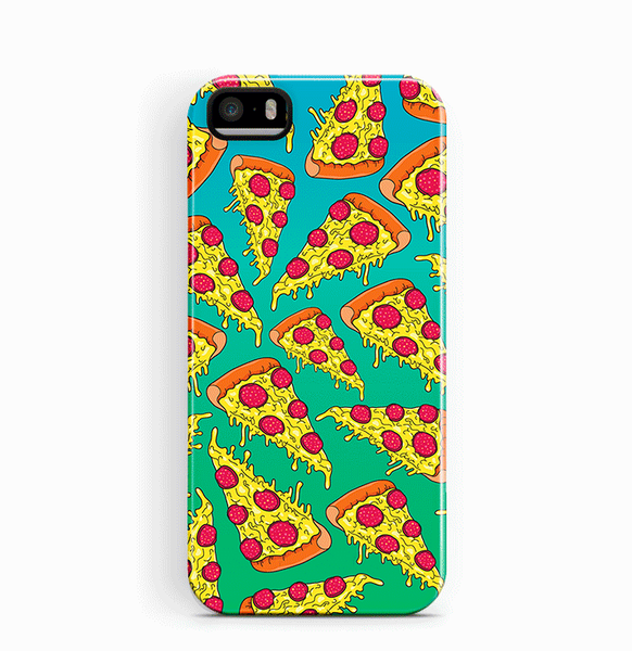 Pizza iPhone 5 5S SE Case Food Tough
