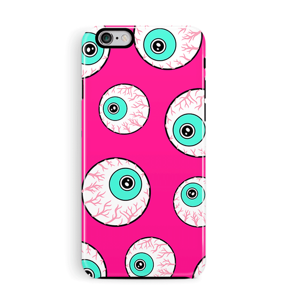 Googley Eyes iPhone 6 6S Case Tough Pink