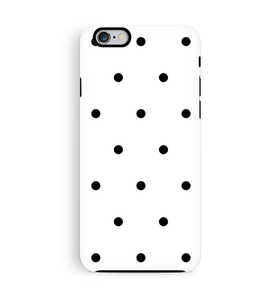 Polka Dot iPhone 6 6S Case Tough
