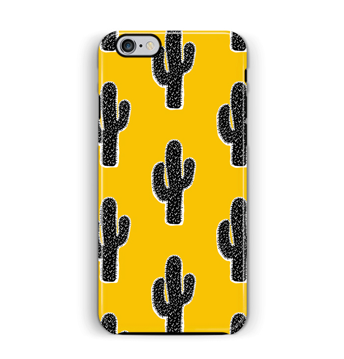 pretty nice f3a71 89f79 Yellow Cactus iPhone 6 6S Case Tough – Pattern Party