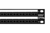 CTP96TP Bantam Patchbay, Palladium Contacts, Direct Solder Termination