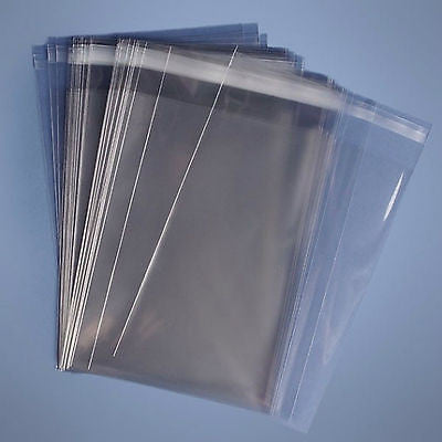 Cello cellophane display bags ideal for greeting cards photo's  peel & seal