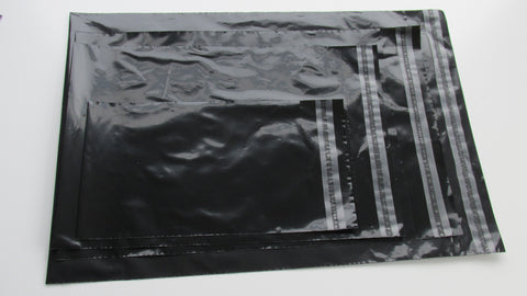 Black Polythene Plastic Mailing Bags
