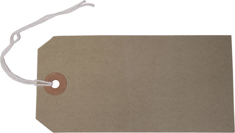 1000 luggage labels Tags Brown string labels tie on for safety. Various Sizes