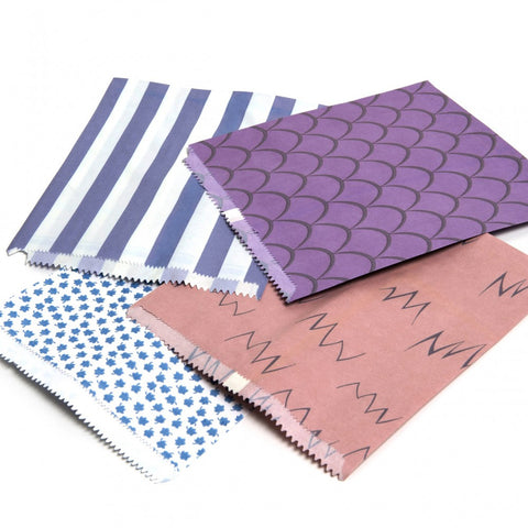 Thick Random Patterned Paper Bags 1000
