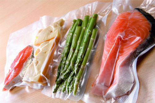 Vacuum Sealer Pouches Pack For Food - Clear  70Micron