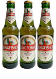 Kingfisher Bière Indienne Blonde Premium - Cheese Naan by Curry Street