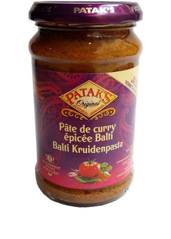Patak's Balti Curry Paste - Acheter sur cheese naan Paris - Epicerie indienne en ligne Curry Street - Produits Patak's