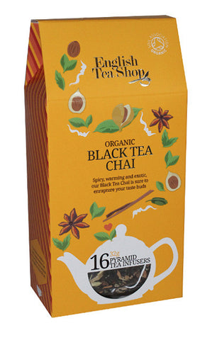 Thé Bio BLACK TEA CHAI - Cheese Naan by Curry Street