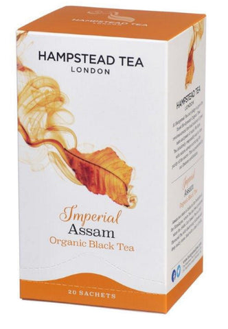 Thé assam bio - Hampstead Tea épicerie indienne