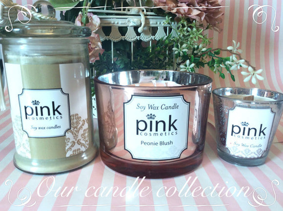 Soy wax candles, melts & Steamers