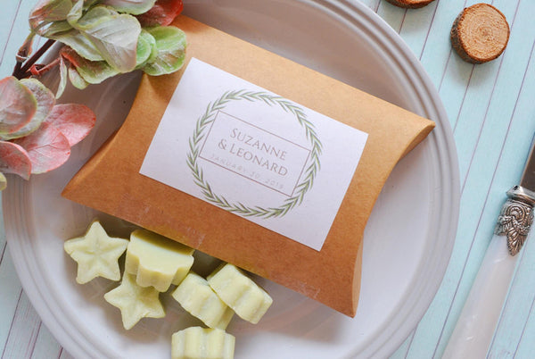 Wedding favours - Soy wax melts