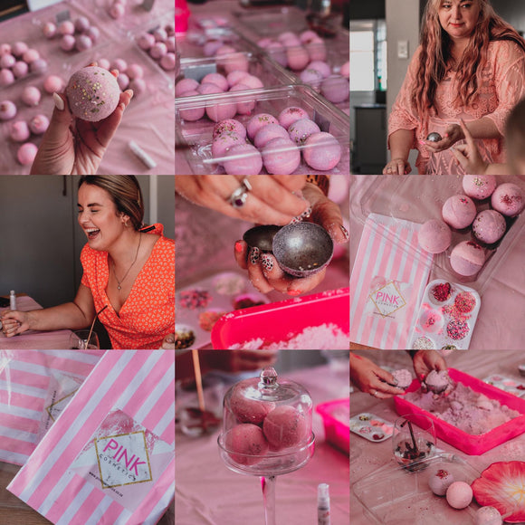 Bathbomb workshop