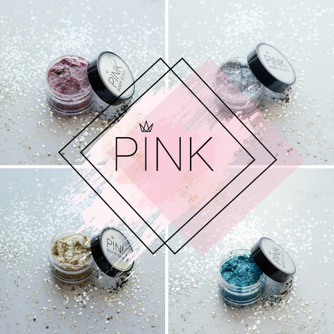 Pink collection- Body Glitter Glaze