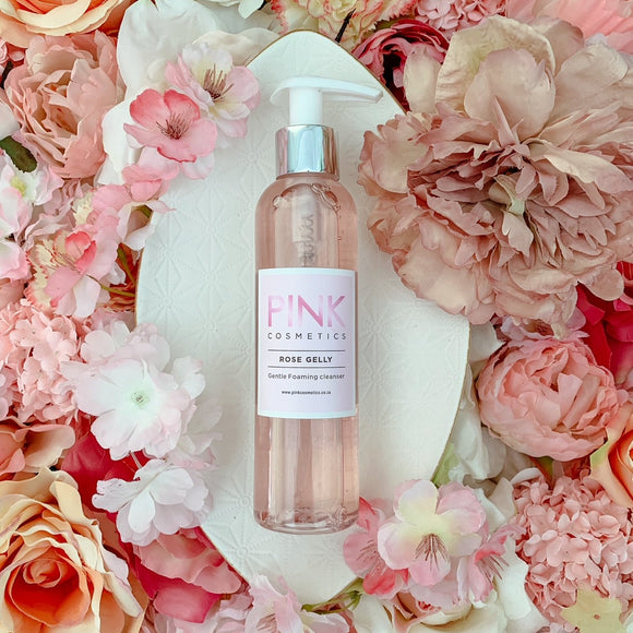 Rose Gelly Foaming Facial Cleanser