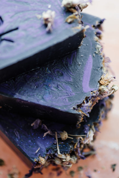 Black Amethyst Soap