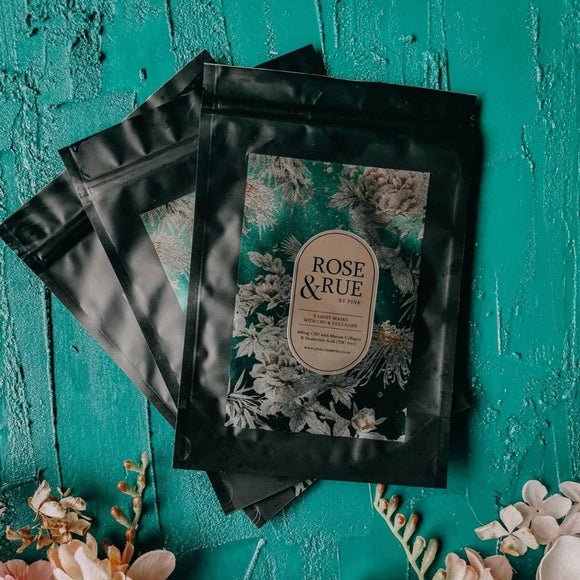Rose & Rue - CBD Sheet Masks (3)