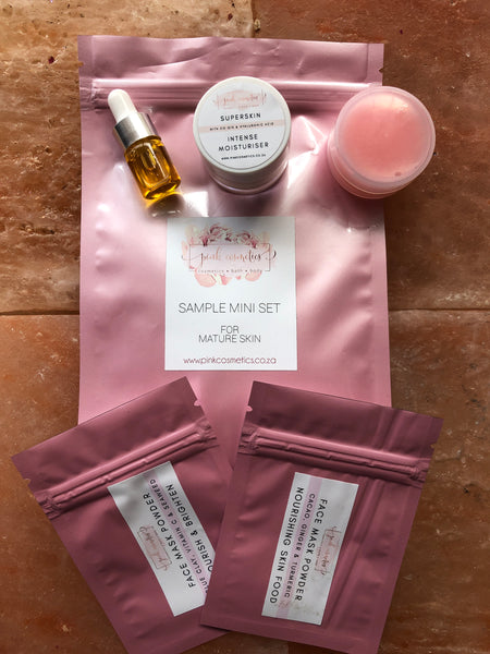 Pink collection- Sample set for Mature skin