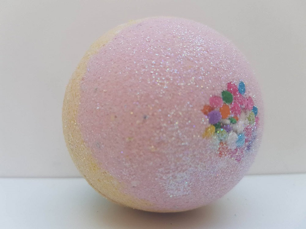 Pink bath- Giant bath bomb- Unicorn