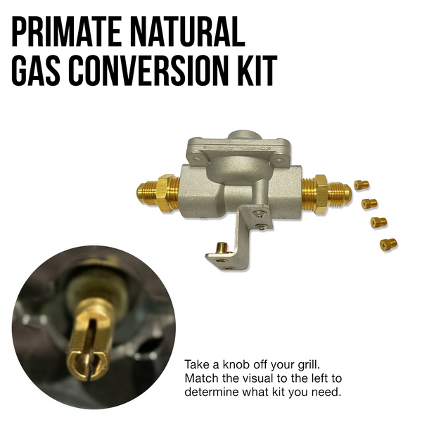 Primate Natural Gas Conversion Kit