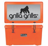 Grilla Grills 60 qt cooler in orange