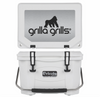 Grilla 20 qt cooler in white