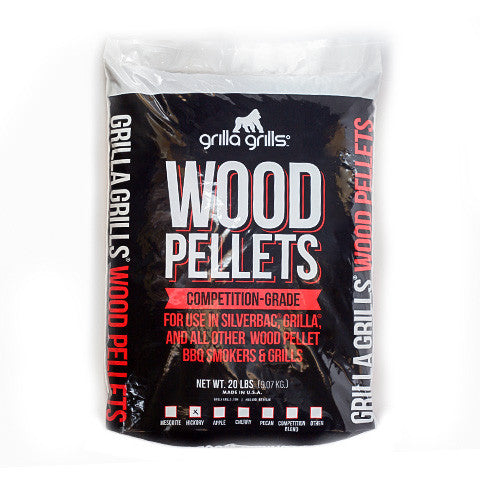 Hickory Wood Pellets – 20lbs