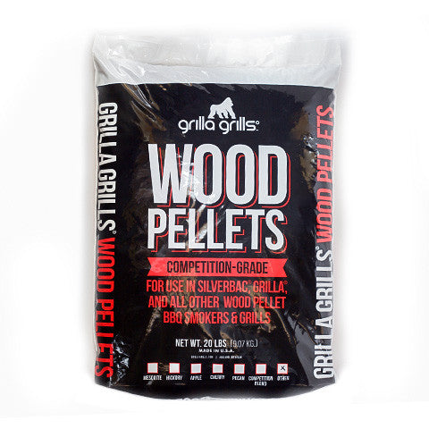Wood Pellets - Competition Blend OHC (Oak, Hickory, Cherry) 20lbs