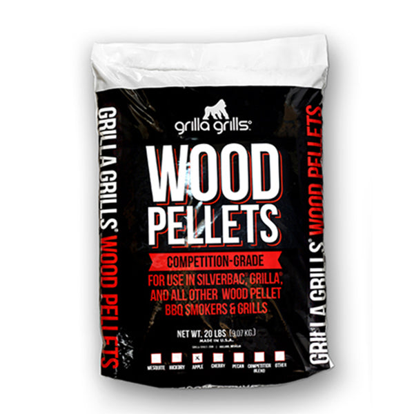 Apple Wood Pellets – 20lbs