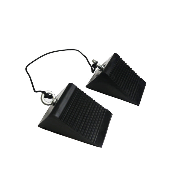 All-Terrain Wheel Chocks (Rubber Grill Stopper)