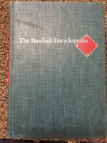 THE BASEBALL ENCYCLOPEDIA. 1976 3RD EDIT.  HARDCOVER with Insert!  2142 PAGES - Odd MoFo
