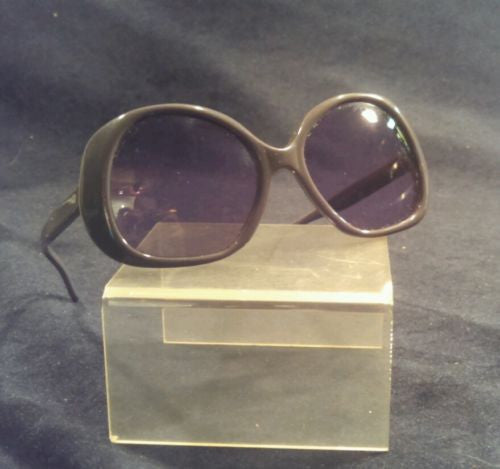 Vintage Riviera Sunglasses 52-18 Purple Bug Eye Frames Italy