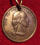 Vintage George Washington Coin Chain Necklace
